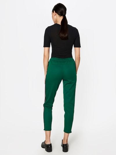SET Spodnie w kolorze ciemnozielonym: Widok od tyłu