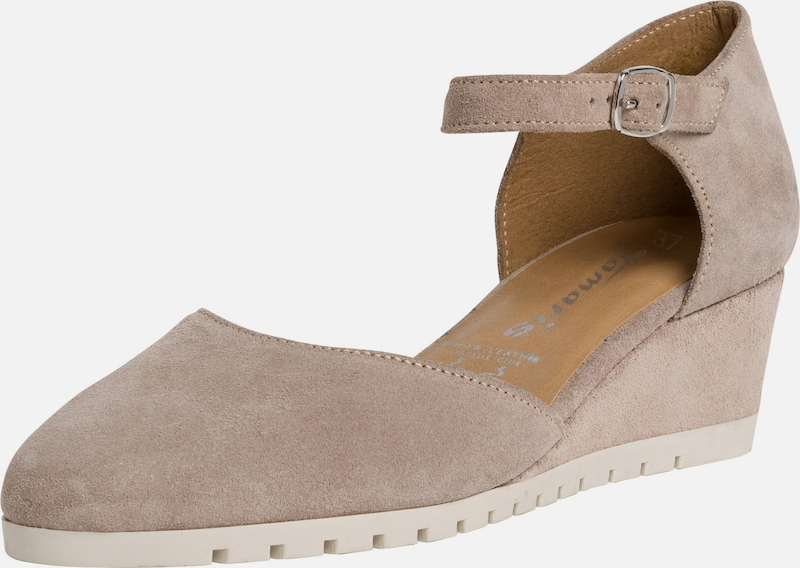 TAMARIS Pumps in taupe, Produktansicht