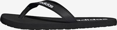 ADIDAS PERFORMANCE Zehentrenner in schwarz / weiß, Produktansicht