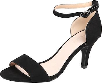 Bianco Sandale in schwarz
