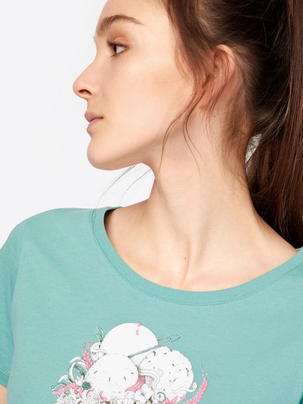 Iriedaily T-shirt Flowery Ice