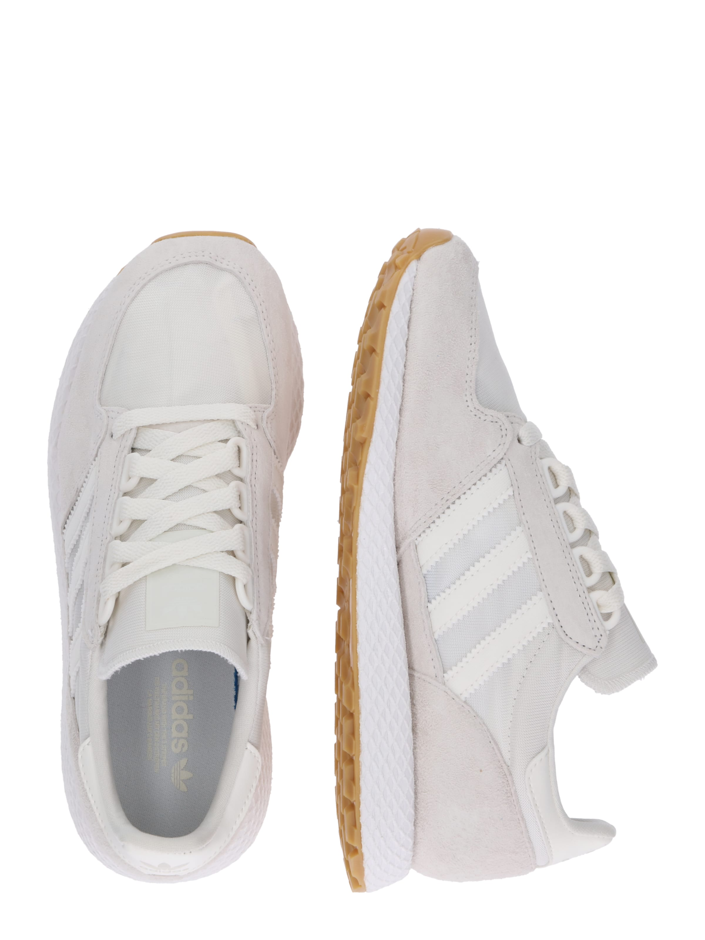 Sneaker 'forest Originals Adidas Grove' In HellgrauWeiß 1clFKJ3T