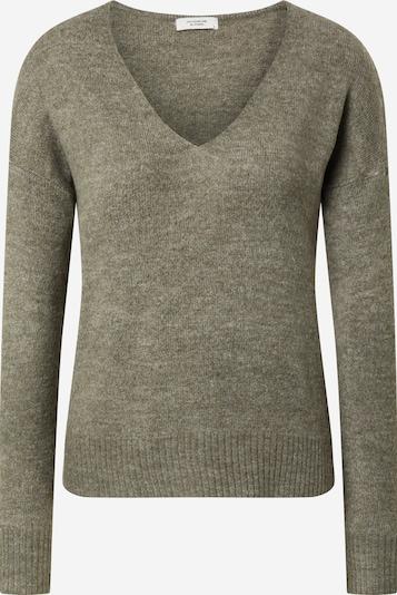 JACQUELINE de YONG Pullover 'Elanora' in khaki, Produktansicht