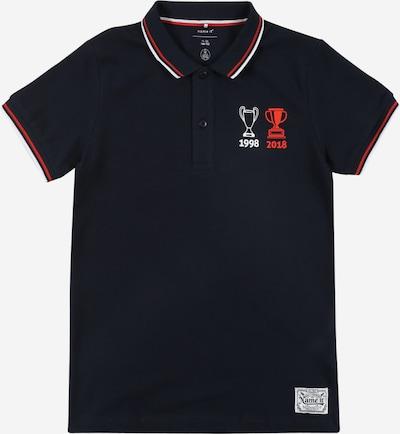 NAME IT Majica 'KKUAKATA' u safirno plava / crvena / bijela, Pregled proizvoda