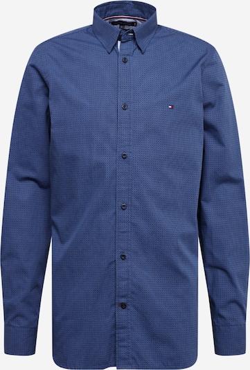 TOMMY HILFIGER Hemd 'SLIM SQUARE PRINT SHIRT' in indigo / mischfarben, Produktansicht