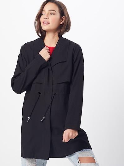 VILA Mantel 'Vianina' in schwarz, Modelansicht