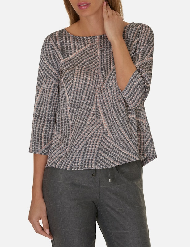 Betty & Co Shirt mit Allover Muster