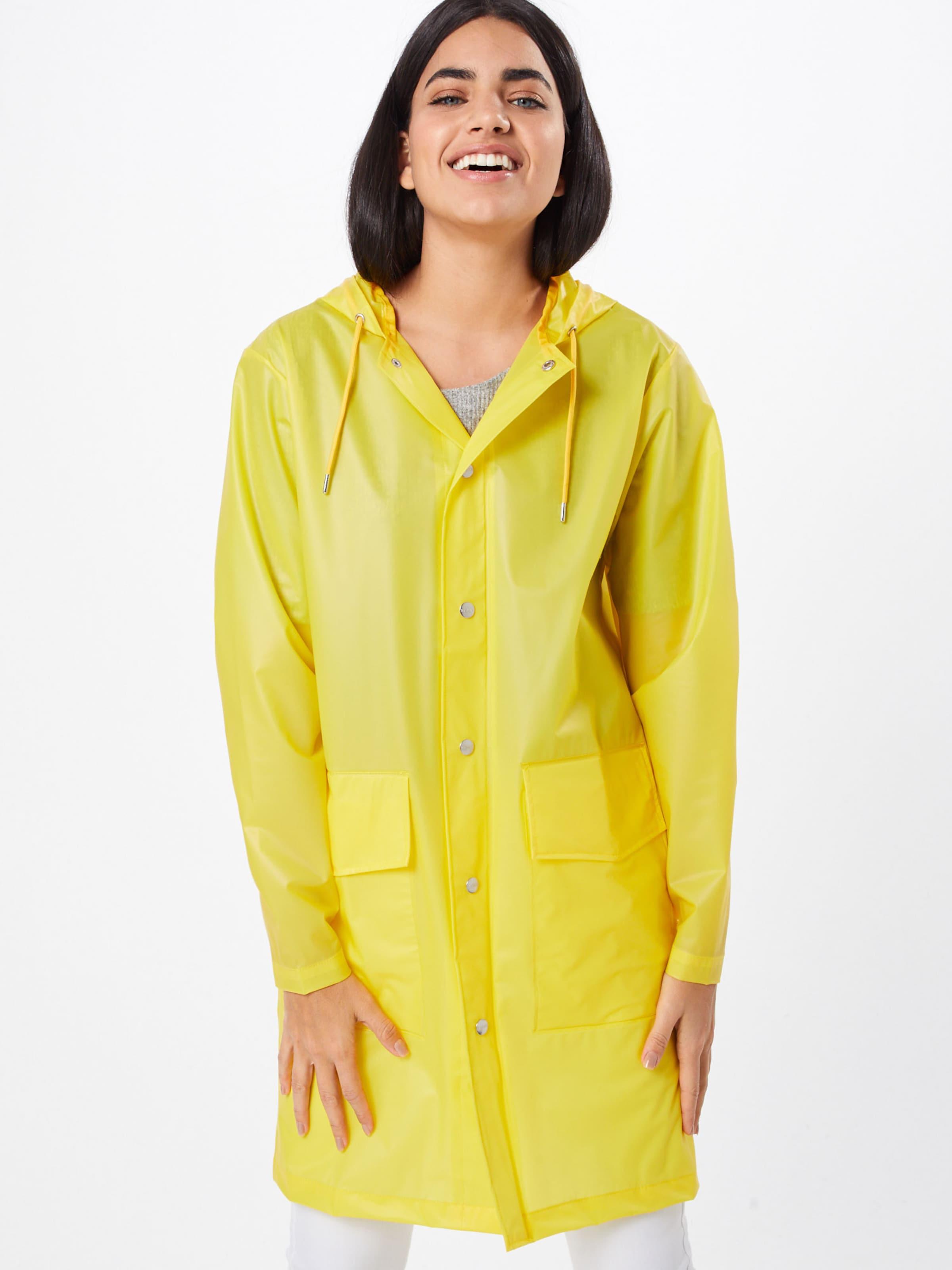Mantel Gelb Coat' In 'hooded Rains dsrhxCtQ