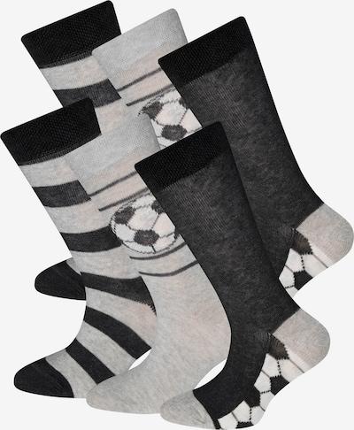 EWERS Chaussettes en gris / noir, Vue avec produit