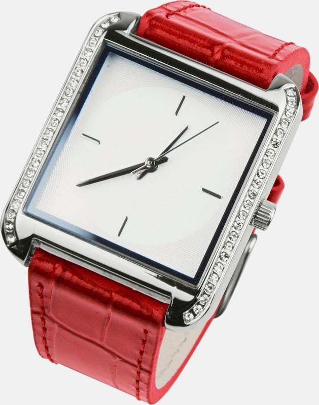 heine Armbanduhr in Krokoprägung
