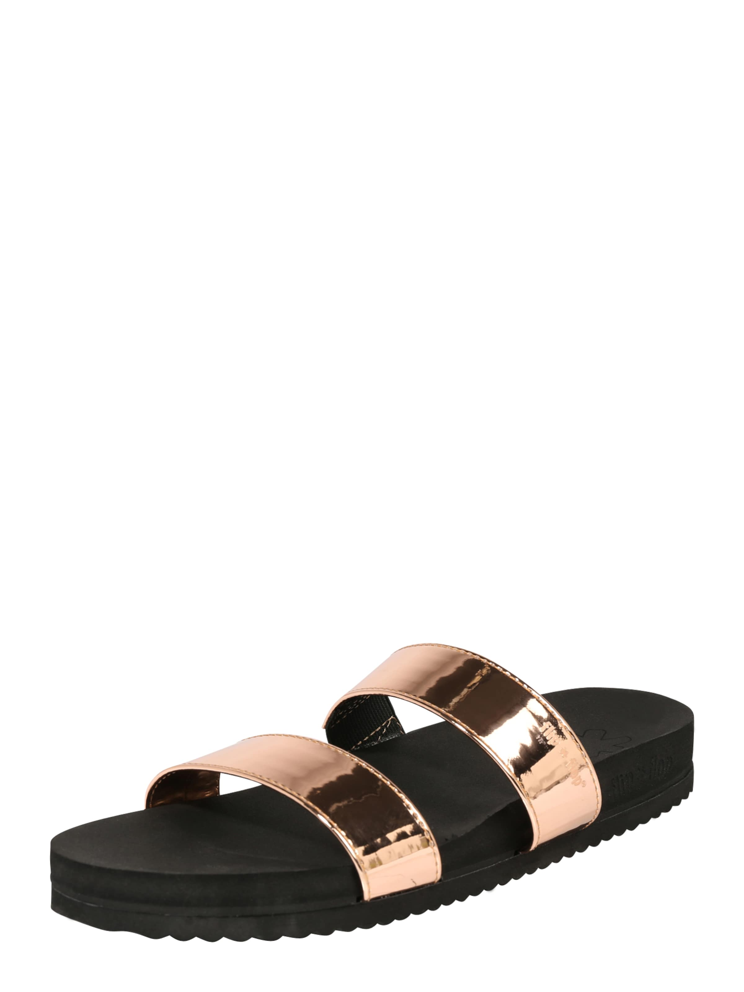 FLIP*FLOP Slides  double strap mirrow