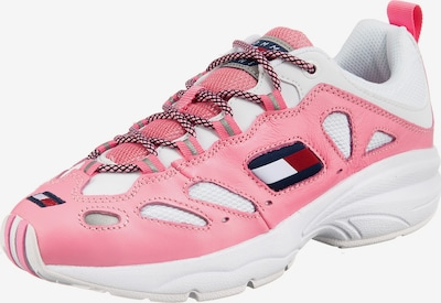 Tommy Jeans Sneakers laag 'Heritage' in de kleur Pink / Wit, Productweergave