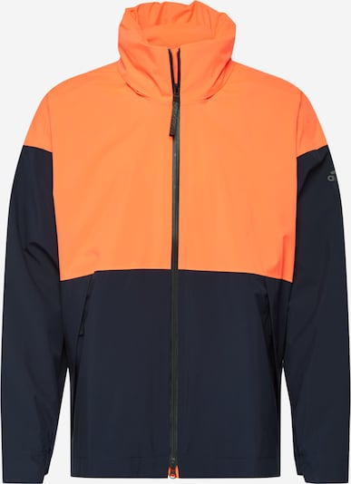 ADIDAS PERFORMANCE Regenjacke in blau / orangerot, Produktansicht