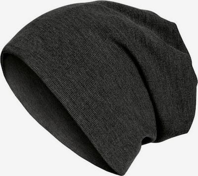 MSTRDS Mütze in schwarzmeliert, Produktansicht