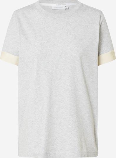 Calvin Klein Shirt 'ATHLEISURE SS' in de kleur Grijs, Productweergave