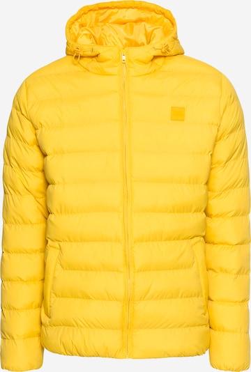 Urban Classics Tussenjas in de kleur Geel, Productweergave