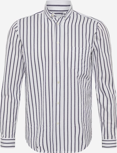 Samsoe Samsoe Hemd 'Liam' in taubenblau / weiß, Produktansicht
