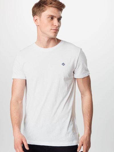 TOM TAILOR DENIM Tričko - biela: Pohľad spredu