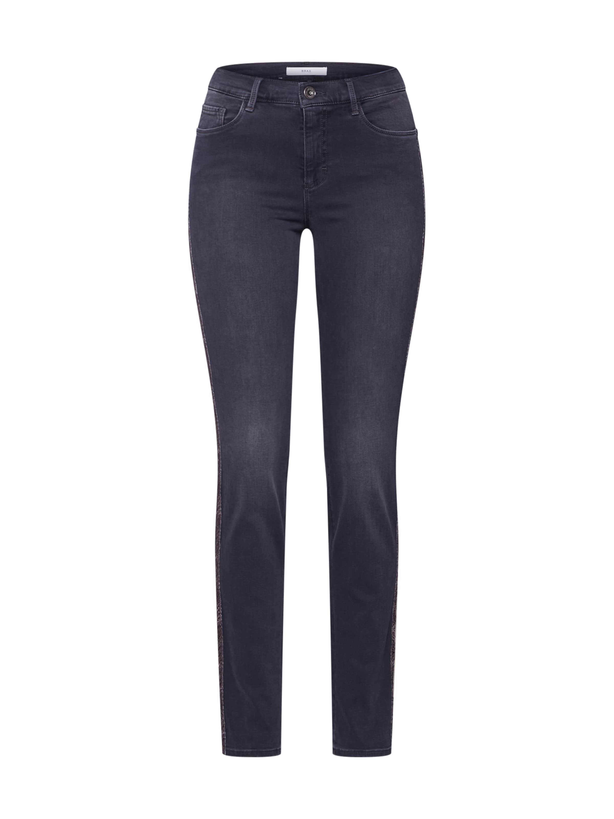 'shakira' Jeans Grey Brax Denim In WEID29eHY