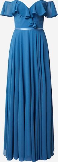 mascara Robe de soirée 'FRILLED' en bleu, Vue avec produit