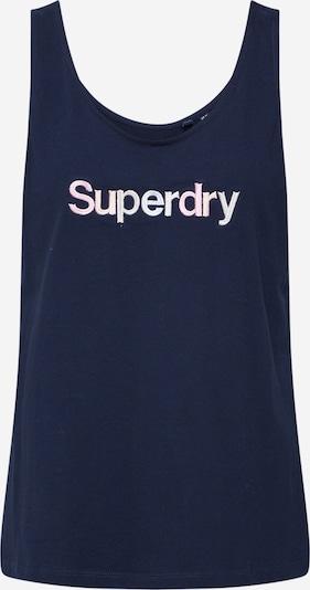 Superdry Haut en bleu marine, Vue avec produit
