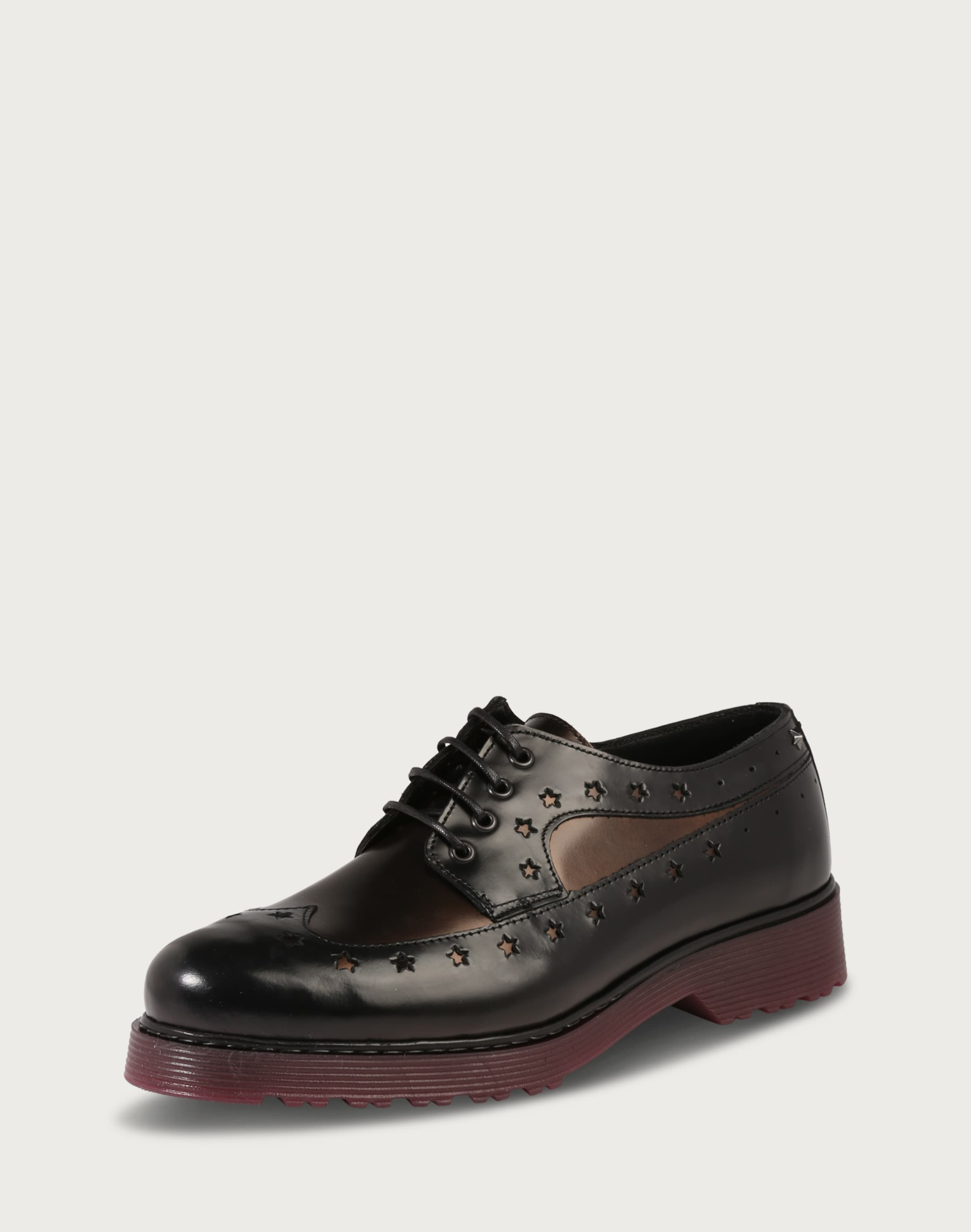 Haltbare Mode billige Schuhe TOMMY HILFIGER | Schnürer 'Lotta' Schuhe Gut getragene Schuhe
