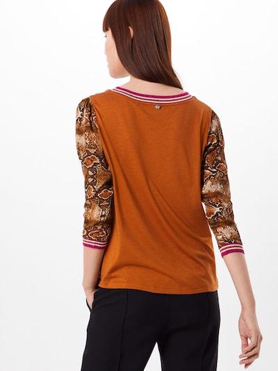 Bluză Rich & Royal pe portocaliu: Privire spate