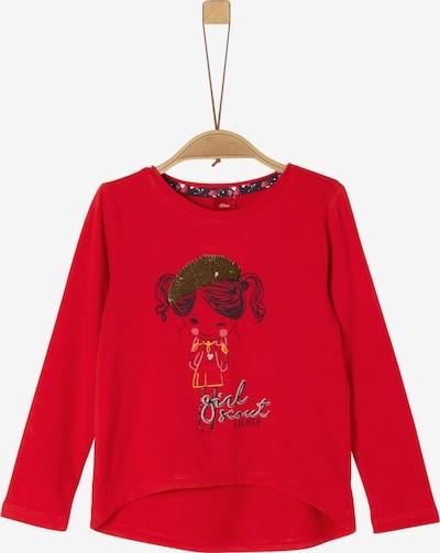 s.Oliver Junior Shirt in rot, Produktansicht