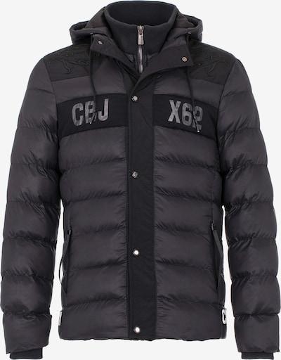 CIPO & BAXX Steppjacke mit praktischer Kapuze in schwarz, Produktansicht