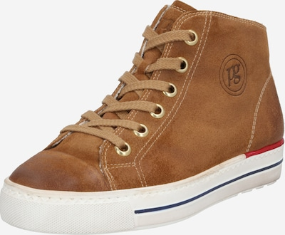 Paul Green Sneaker in cognac: Frontalansicht