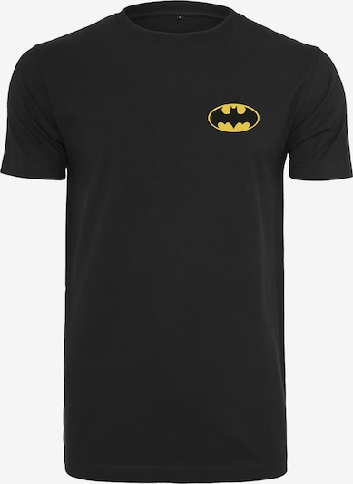 Mister Tee T-Shirt 'Batman Chest' in gelb / schwarz: Frontalansicht