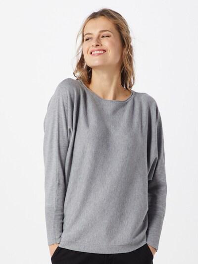 MORE & MORE Sweter w kolorze nakrapiany szarym: Widok z przodu