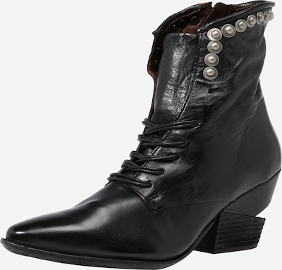 A.S.98 Stiefelette 'Tinget' in schwarz / silber, Produktansicht