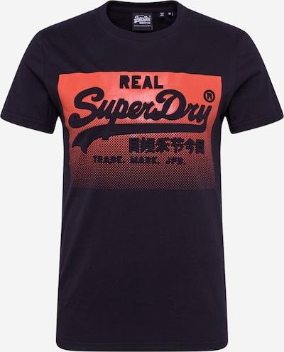 Superdry Shirt in de kleur Rood / Zwart, Productweergave