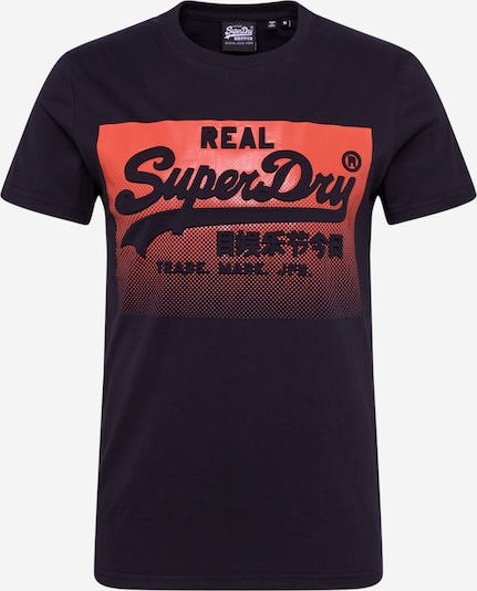 Superdry Shirt in Rood / Zwart zgSoPux2