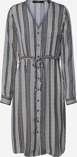 VERO MODA Kleid 'Juna' in nachtblau / taubenblau: Frontalansicht