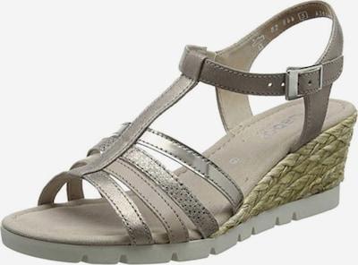 GABOR Sandalette in gold / offwhite, Produktansicht