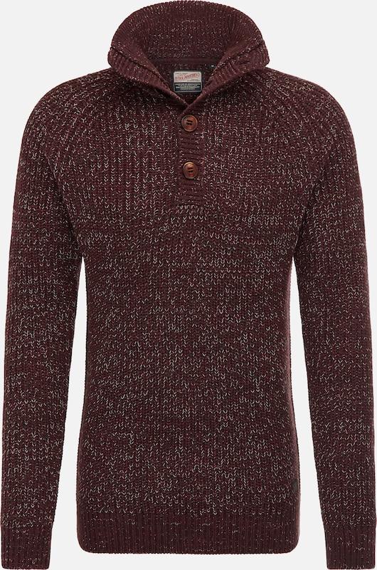 Petrol Industries Pullover in burgunder  Neue Kleidung in dieser Saison
