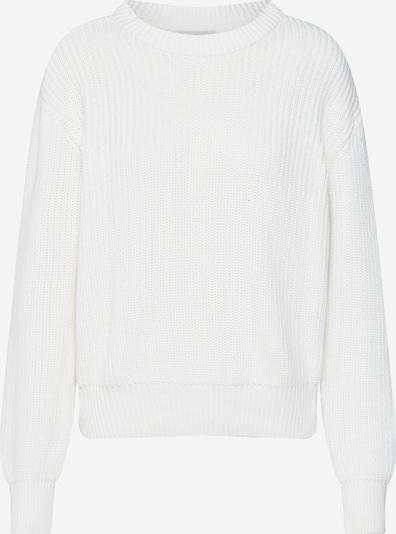 minimum Pullover 'Mikala' in creme / weiß, Produktansicht