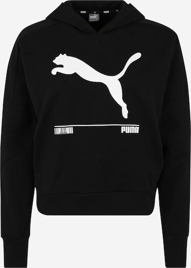 PUMA Sweat-shirt 'NU-TILITY' en noir / blanc, Vue avec produit