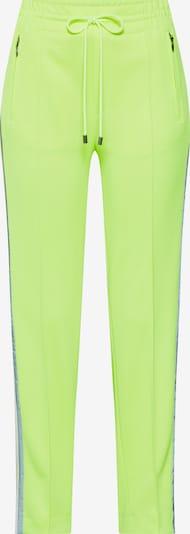 DRYKORN Pantalon à plis 'BLANKET' en jaune fluo, Vue avec produit