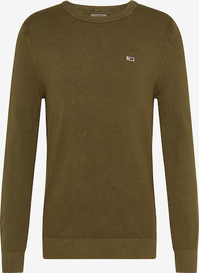 Tommy Jeans Pullover in oliv, Produktansicht