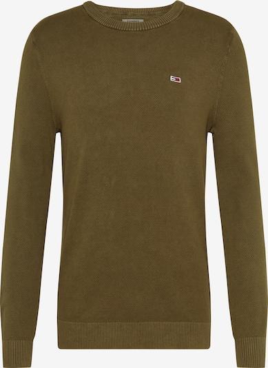 Megztinis iš Tommy Jeans , spalva - alyvuogių spalva, Prekių apžvalga