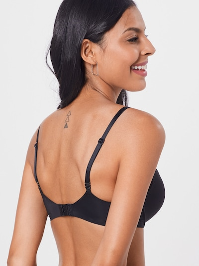 fekete Calvin Klein Underwear Melltartó 'PLUNGE': Hátulnézet