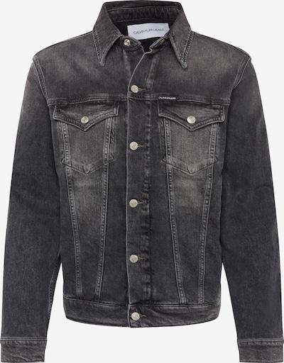 Calvin Klein Jeans Jacke 'FOUNDATION' in grey denim, Produktansicht