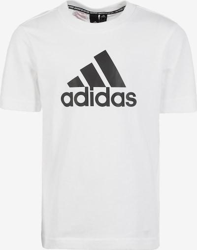 ADIDAS PERFORMANCE T-Shirt 'Must Have Badge of Sport' in schwarz / weiß, Produktansicht