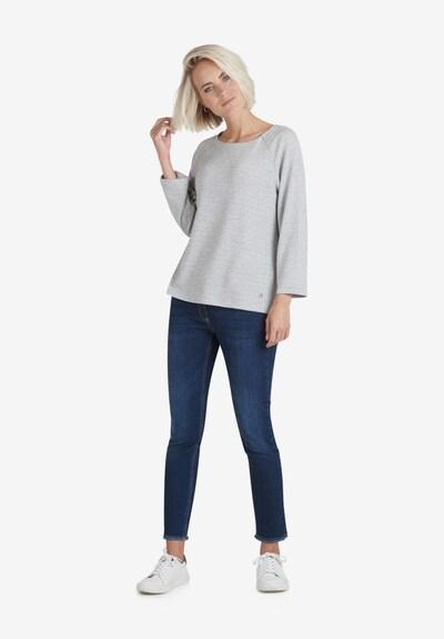 Public Casual-Shirt mit Rundhalsausschnitt in grau: Frontalansicht