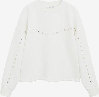 MANGO Sweatshirt 'mirror' in weiß, Produktansicht