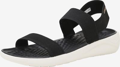Crocs Riemchensandale 'LiteRide' in schwarz, Produktansicht
