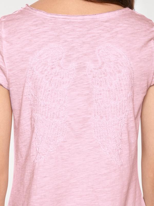 Linea Tesini by heine Shirt mit Stickerei und Rückendetail